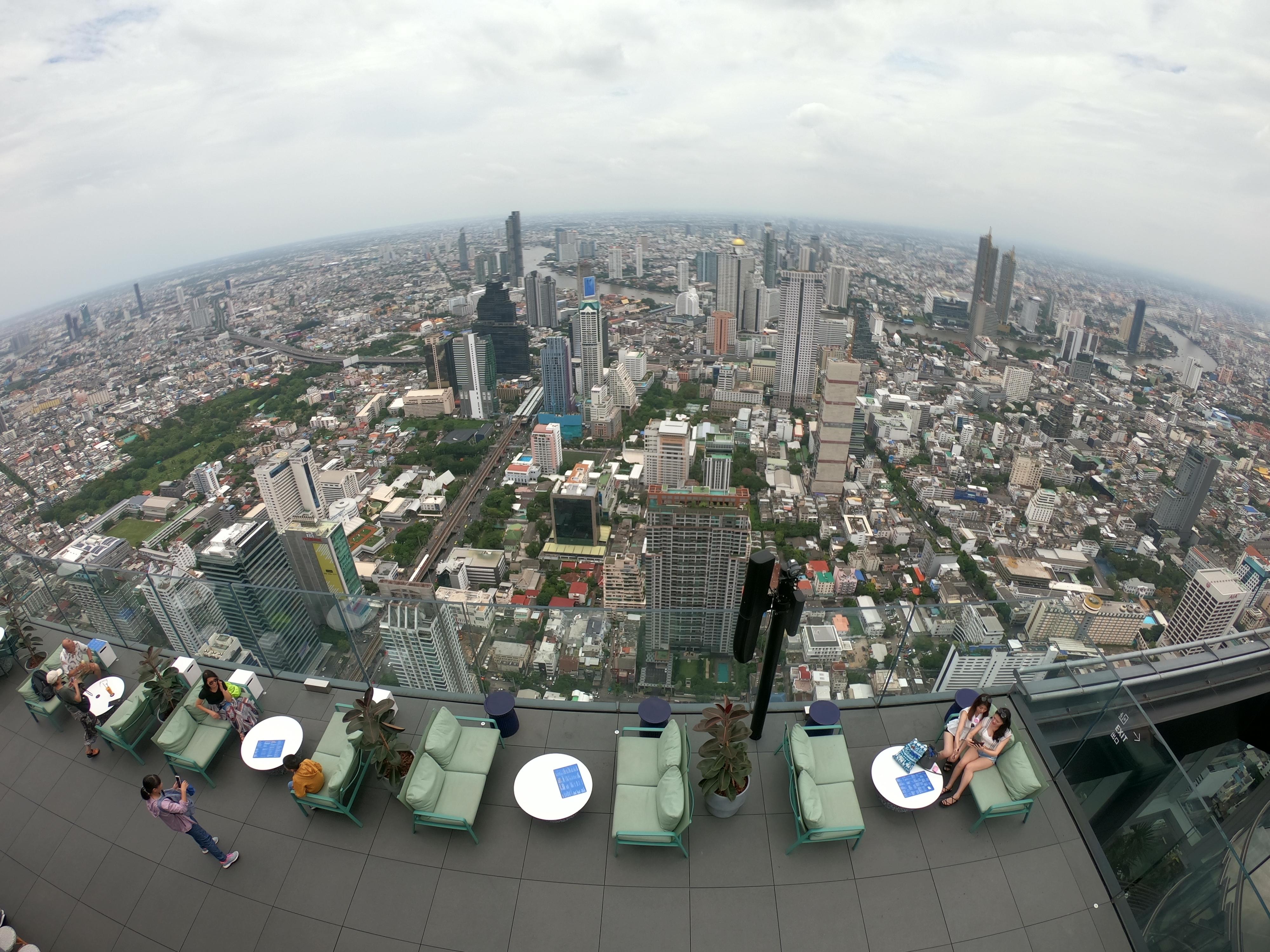 バンコクで一番高い展望台「マハナコーンスカイウォーク」
